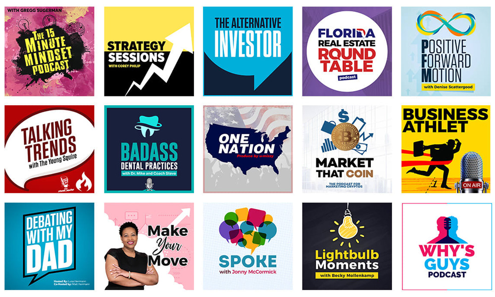 Podcast Services   Artwork and Graphics   Independent Podcast Network